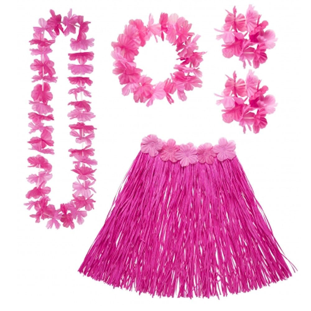 Fancy Dress Hawaiian Set Accessories