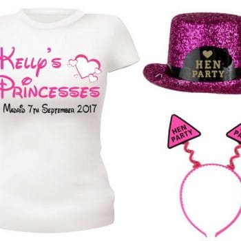 Hen Party Personalised T-shirts and vests