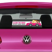 Hen Party Car Stickers