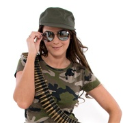 Army Girl Fancy Dress