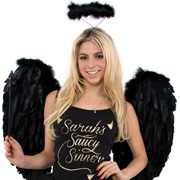 Saints and sinners fancy dress blackpool air