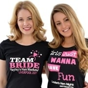 Hen Party T-Shirts & Vests