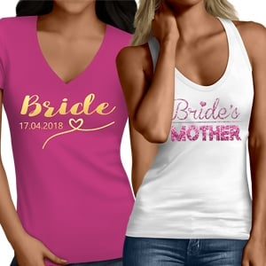 Bridal Party Coordinating Tops