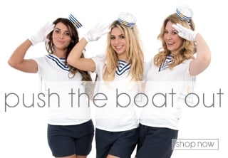 Sailor Fancy Dress - Hen Party Theme Ideas