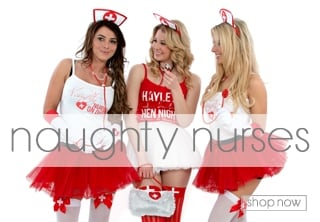 Naughty Nurses Fancy Dress - Hen Party Theme Ideas