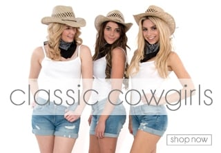 Cowgirl Fancy Dress Theme - Hen Party Ideas