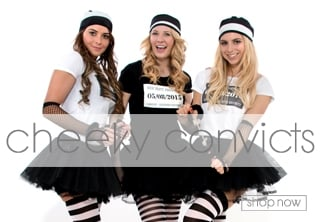 Convict Fancy Dress Theme - Hen Party Ideas