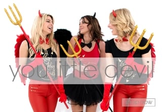 Devil Girls Fancy Dress Theme - Hen Party Ideas