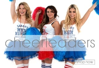 Cheerleader Fancy Dress - Hen Party Themes