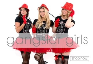 Gangster Fancy Dress Theme - Hen Party Ideas