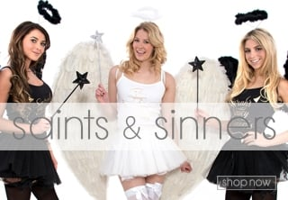 Angels & Fallen Angels Fancy Dress Theme - Hen Party Ideas