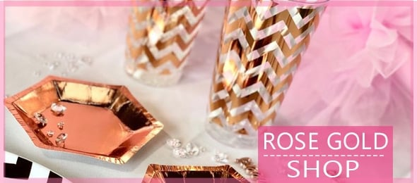 Rose Gold Tableware