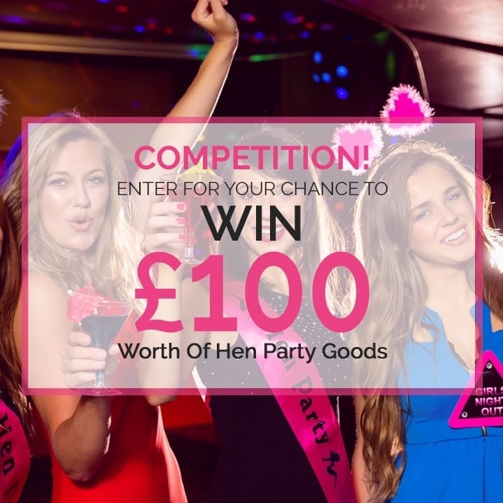 WIN £100 to Spend at www.henpartysuperstore.co.uk