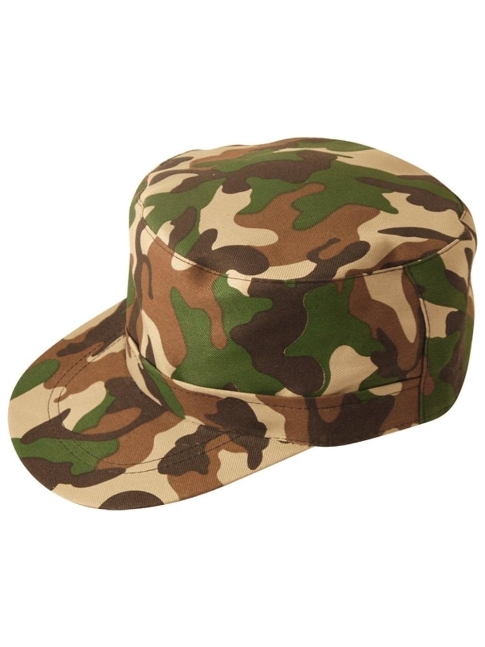 Value Camouflage Fancy Dress Army Hat  198e9cdf9d3