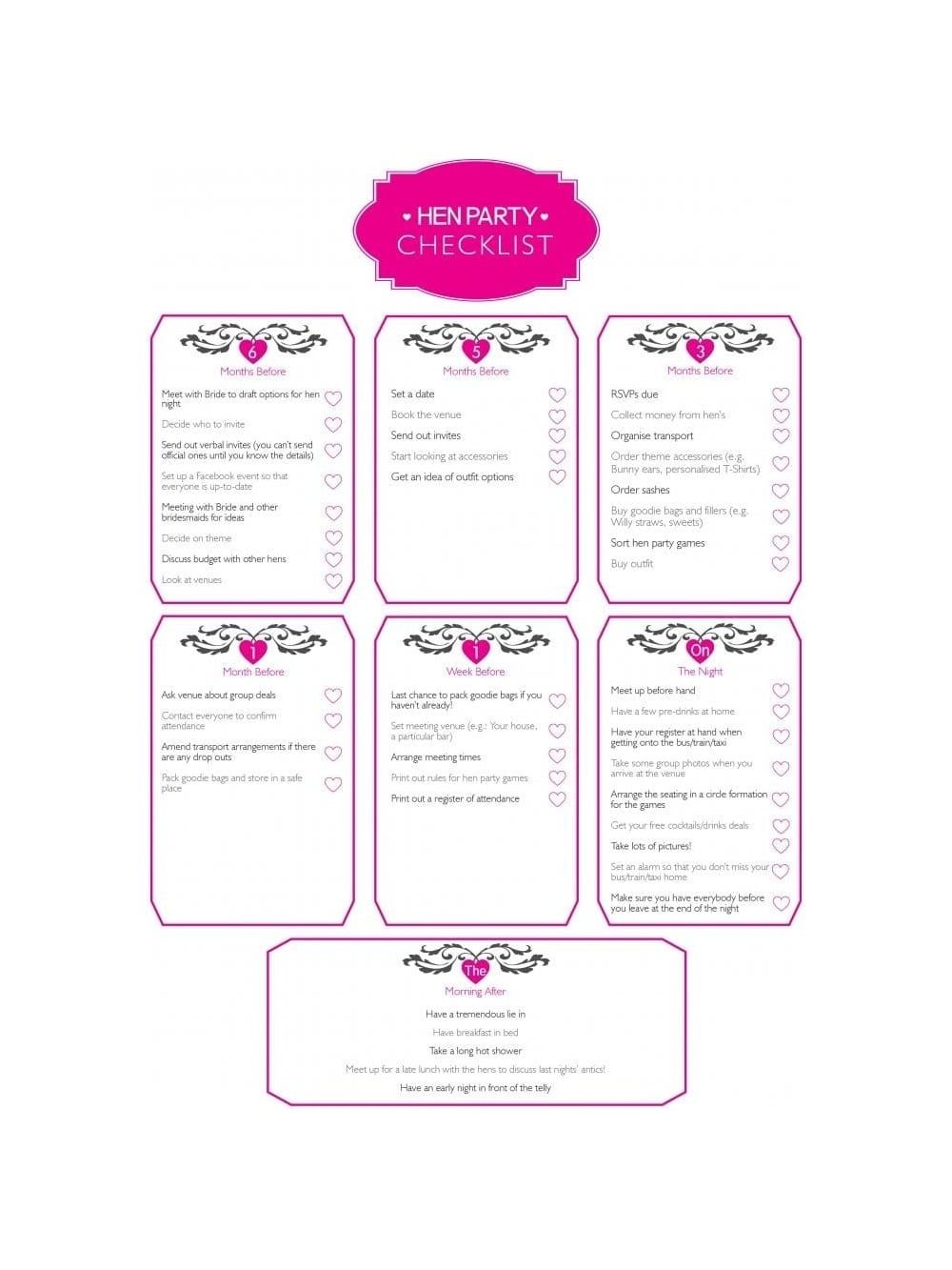 Hen Party Planning | Hen Party Ideas | Hen Party Superstore