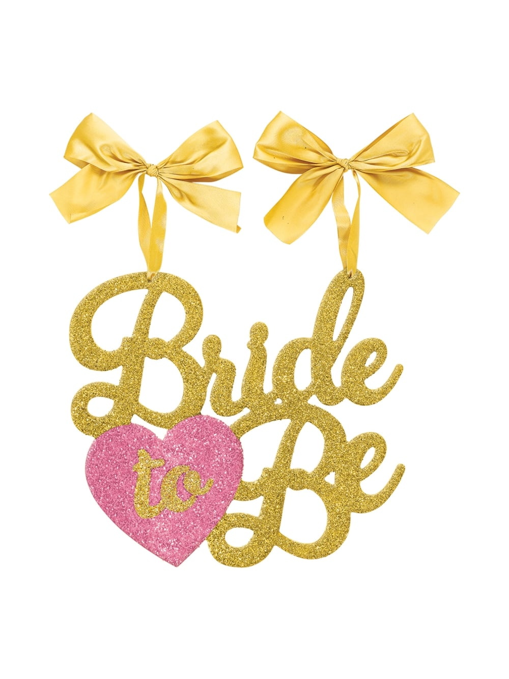 bride to be sign chair decoration