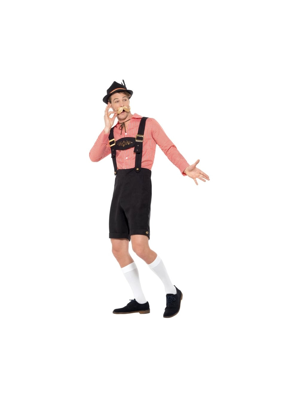 Oktoberfest Costume Red and Black  sc 1 st  Hen Party Superstore & Oktoberfest Costume Red and Black - Stag Stuff from Hen Party ...