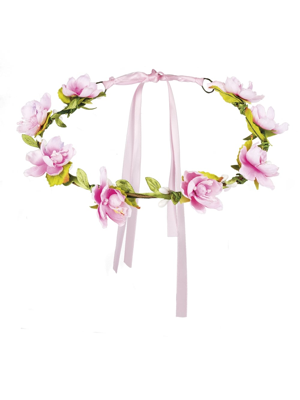 Mallorca Pink Flower Headband Hen Party Accessories From Hen Party