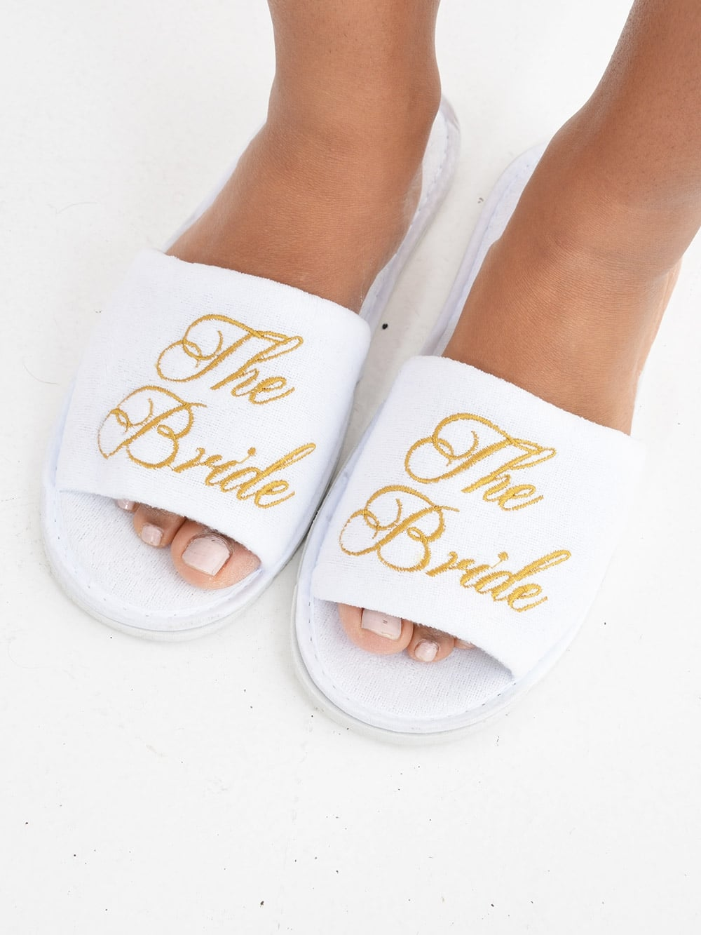 a3382867c Spa Slippers for the Bride - Personalised Items from Hen Party Superstore UK