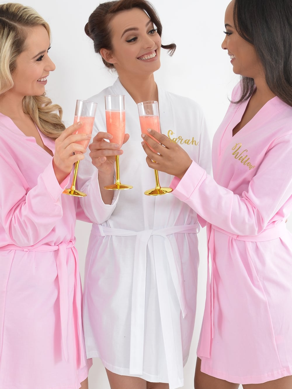 Hen Party Superstore Cotton Personalised Spa Robe - Personalised ... c27dbea25
