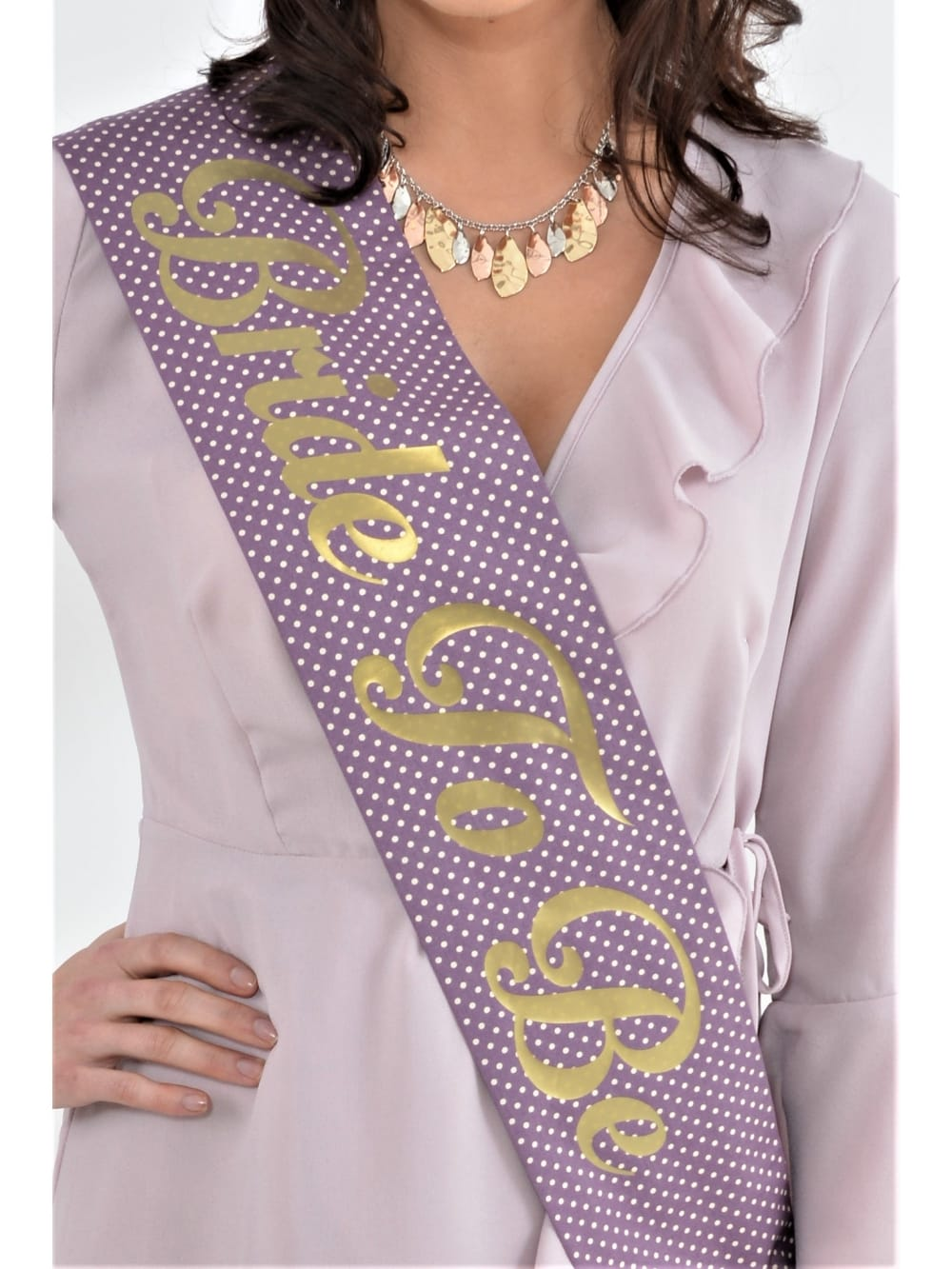 Hen Party Superstore Luxury Vintage Polka Dot Personalised Sash ... df42afb15