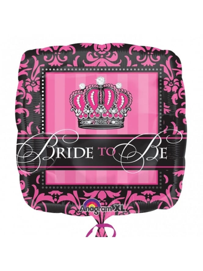 Foil Bride To Be Balloon- Unfilled