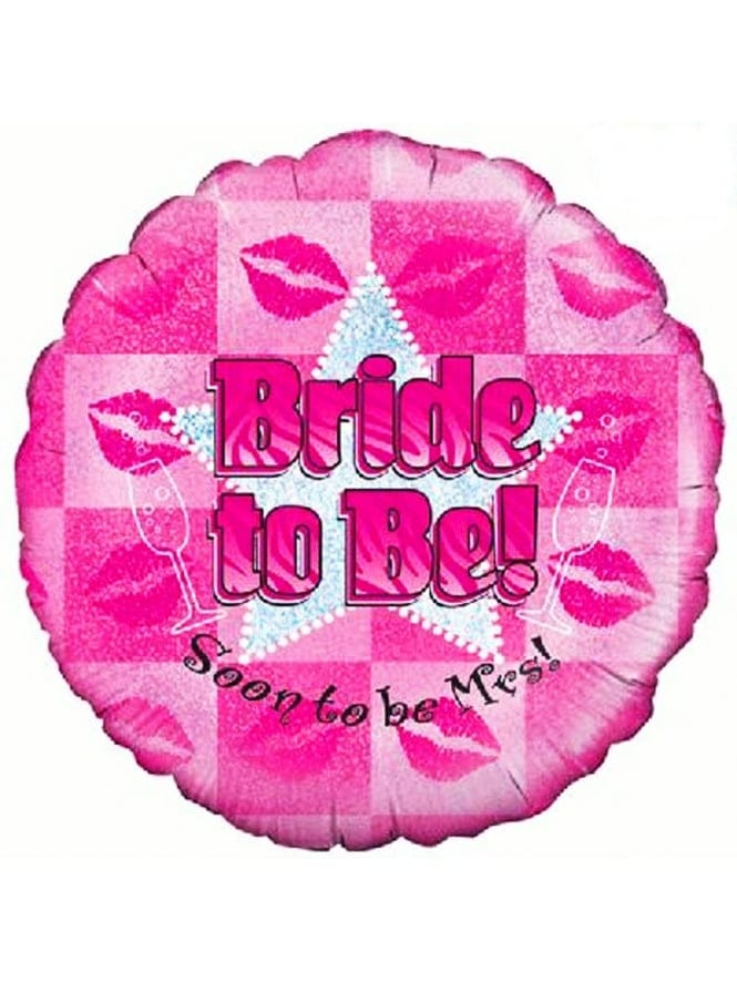 Bride To Be Foil Balloon With Silver Star