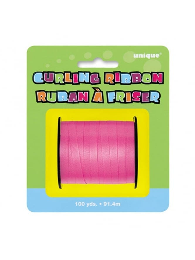 Hen Night Party Pink Curling Decorating Ribbon