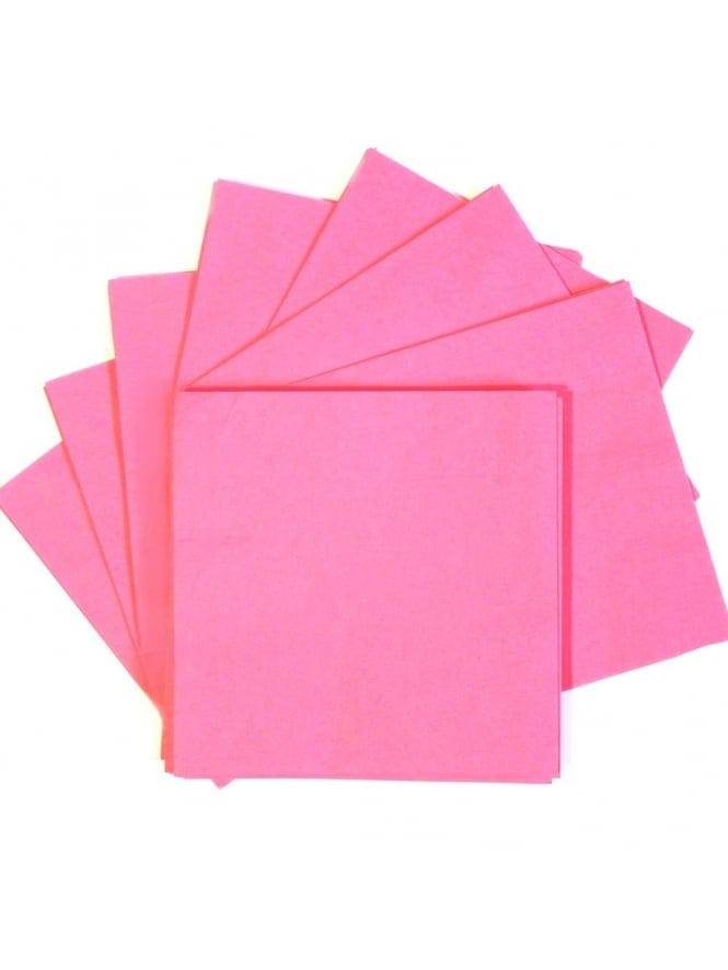 x20 Hen Night Party Pink Beverage Napkins Serviettes