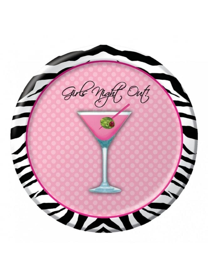 Hen Night Party Plates (Pk Of 8)