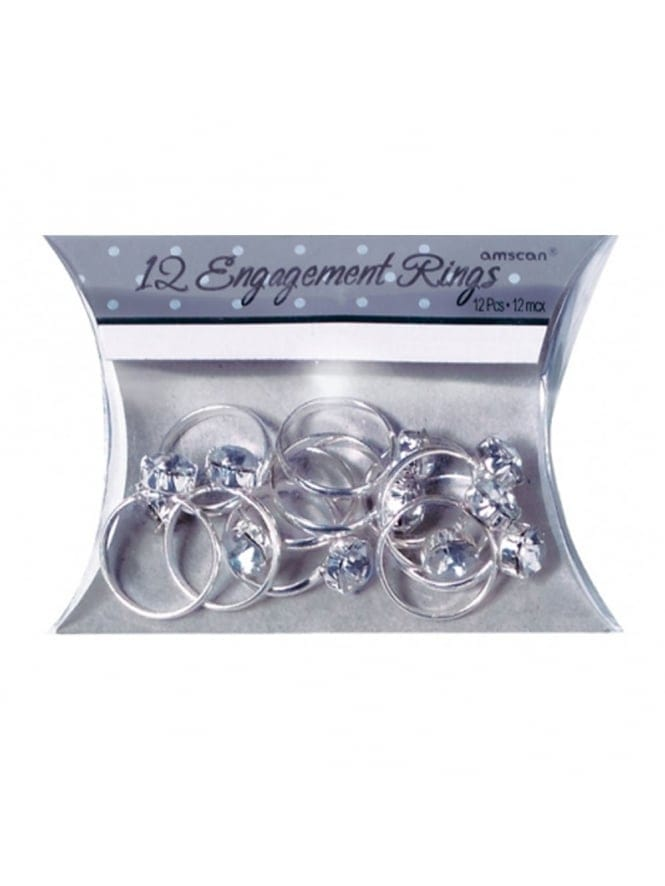 x12 Engagement Rings Table Confetti /Party Favours