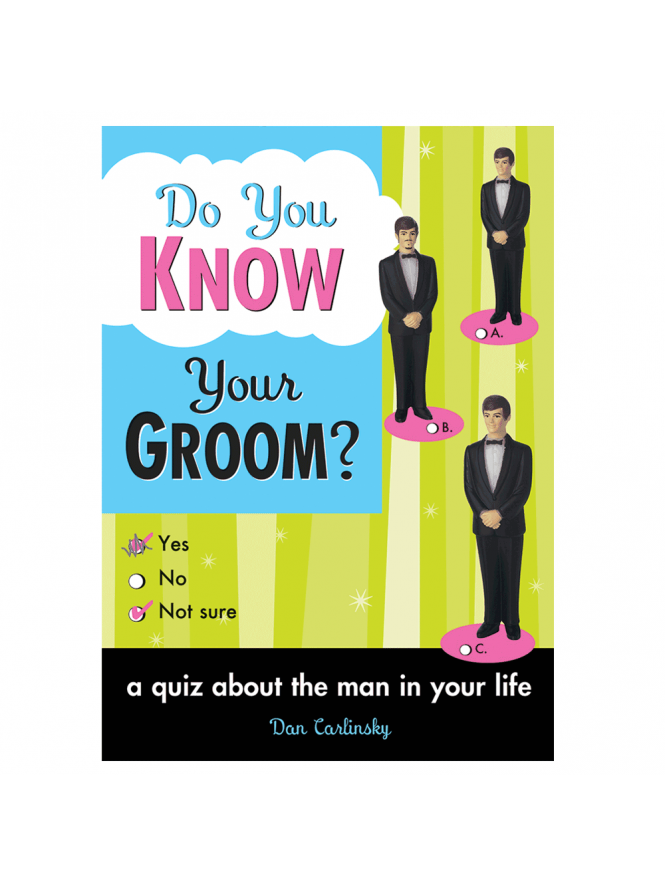 Do You Know Your Groom? Book/ Gift/ Game