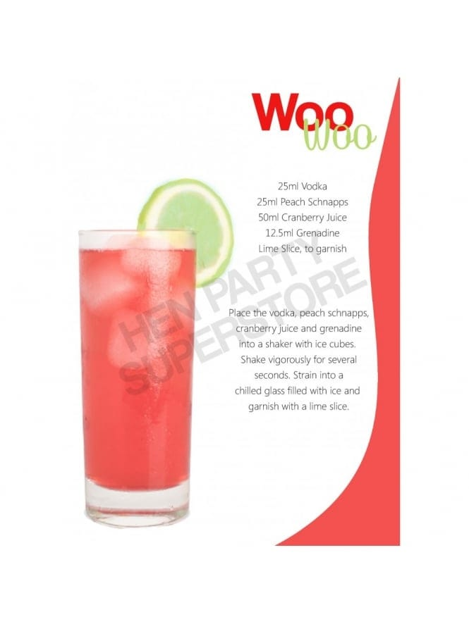 Woo Woo Hen Party Cocktail