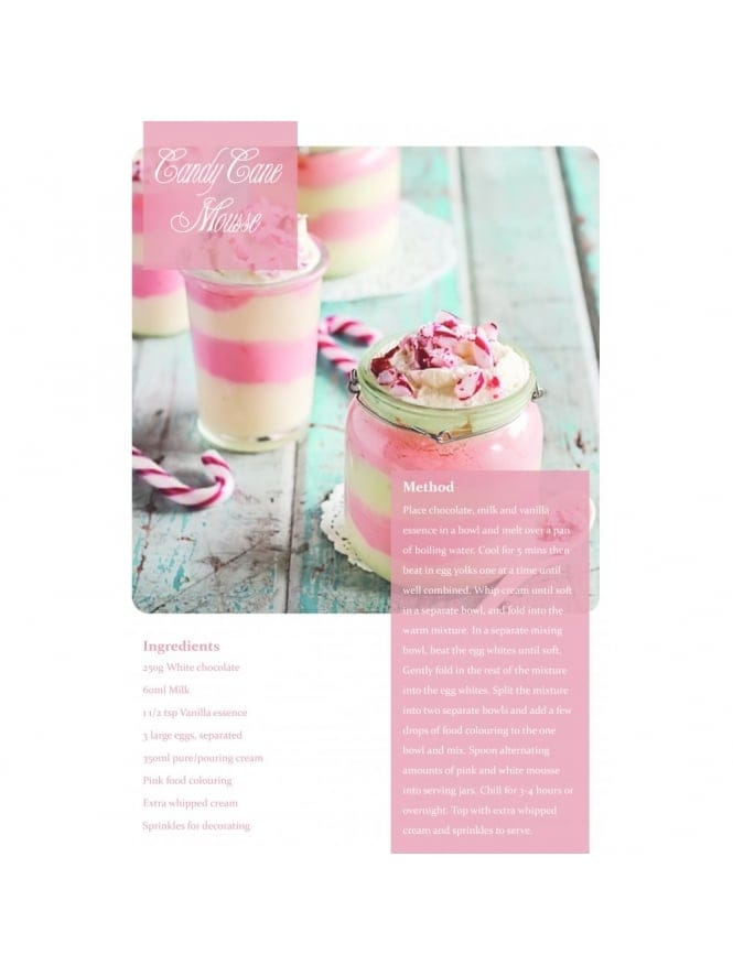 Candy Cane Mousse Hen Party Food