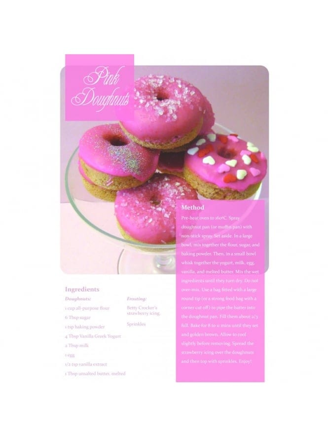 Pink Doughnuts Hen Party Food