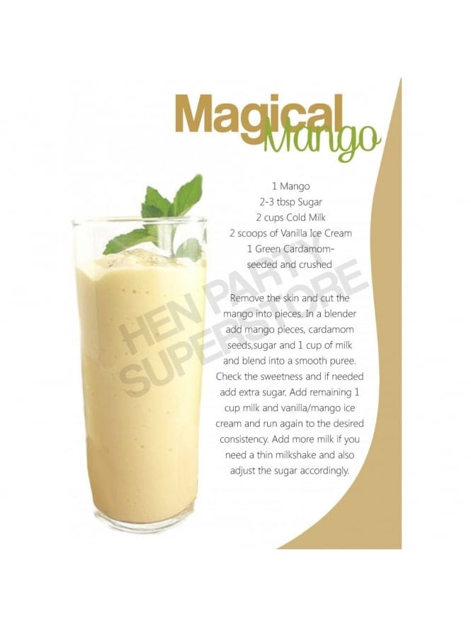 Magical Mango Milkshake Recipe