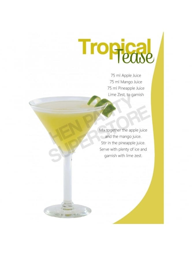 Tropical Tease Mocktail Recipe