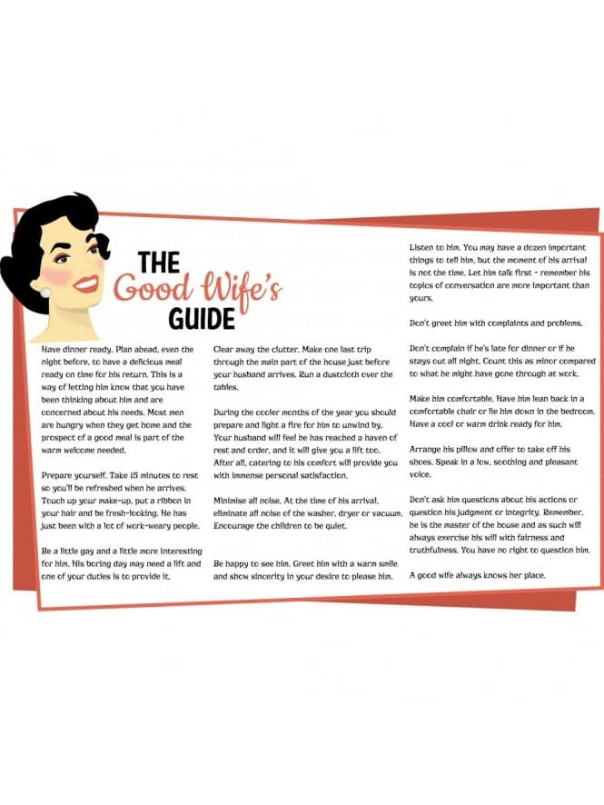 Good Wife Guide Hen Party Game/ Hen Night Games Printable