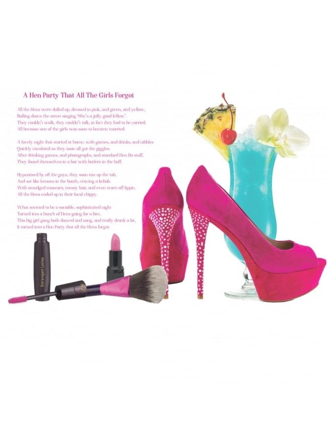 Hen Party Poem - A Hen Party That All The Hens Forgot