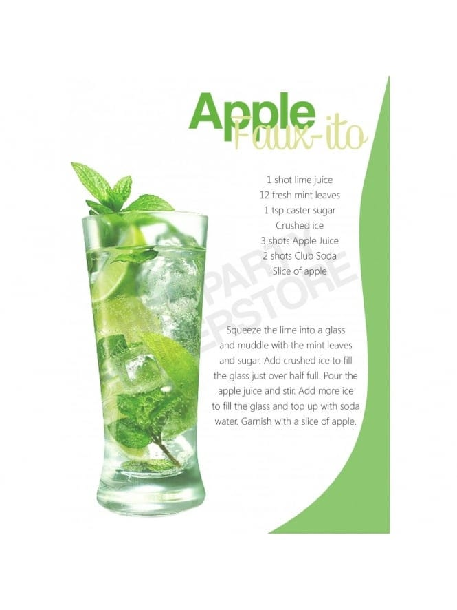 Hen Party Apple Faux-jito Recipe