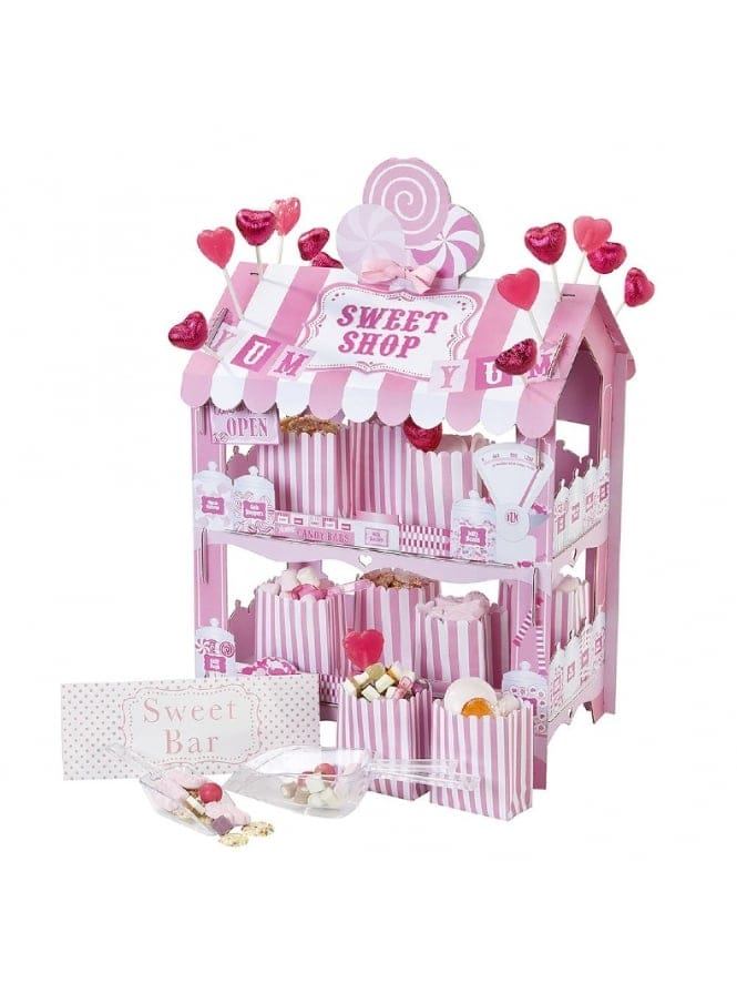 Retro Party Sweet Shop Stand Pink