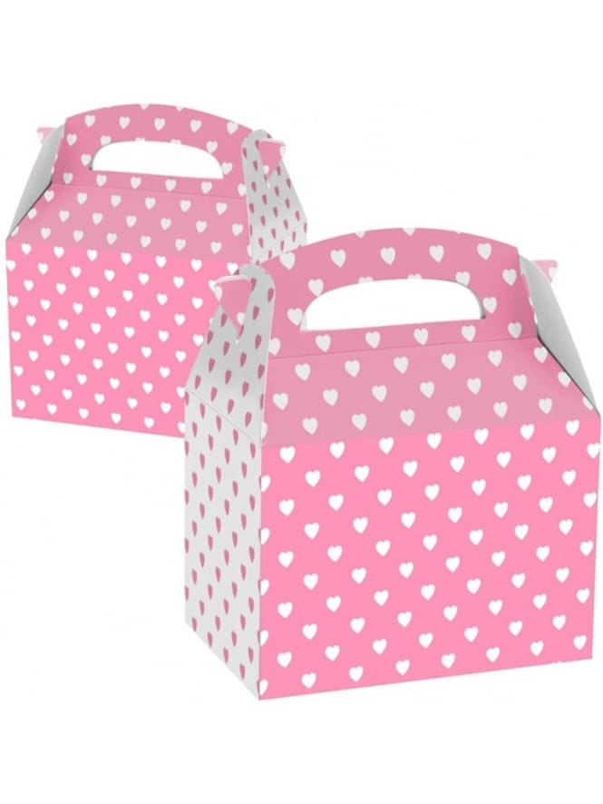 x1 Hearts Hen Party Box, Hen Party Gift bag Box With Hearts