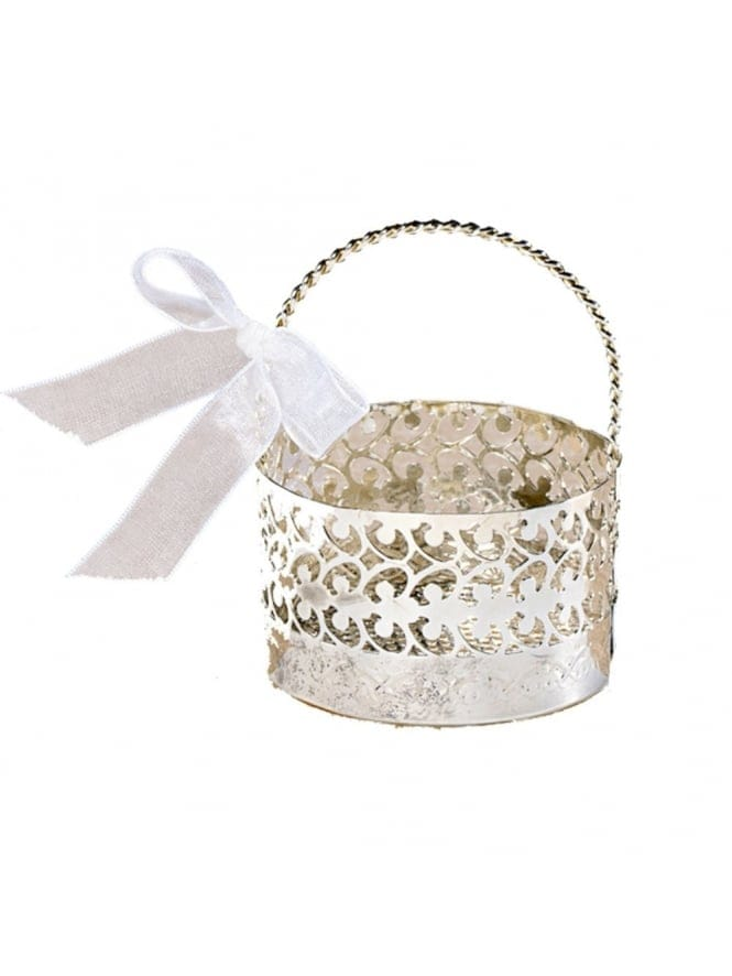 Hen Party Wedding Favour Basket (Real Metal)