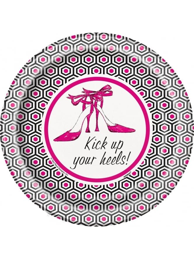 Hen Night Plates, Hen Party Plates With Shoes
