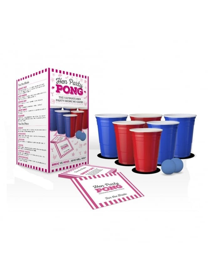 Hen Party Beer Pong Ultimate Hen Party Game Hen Drinking Games
