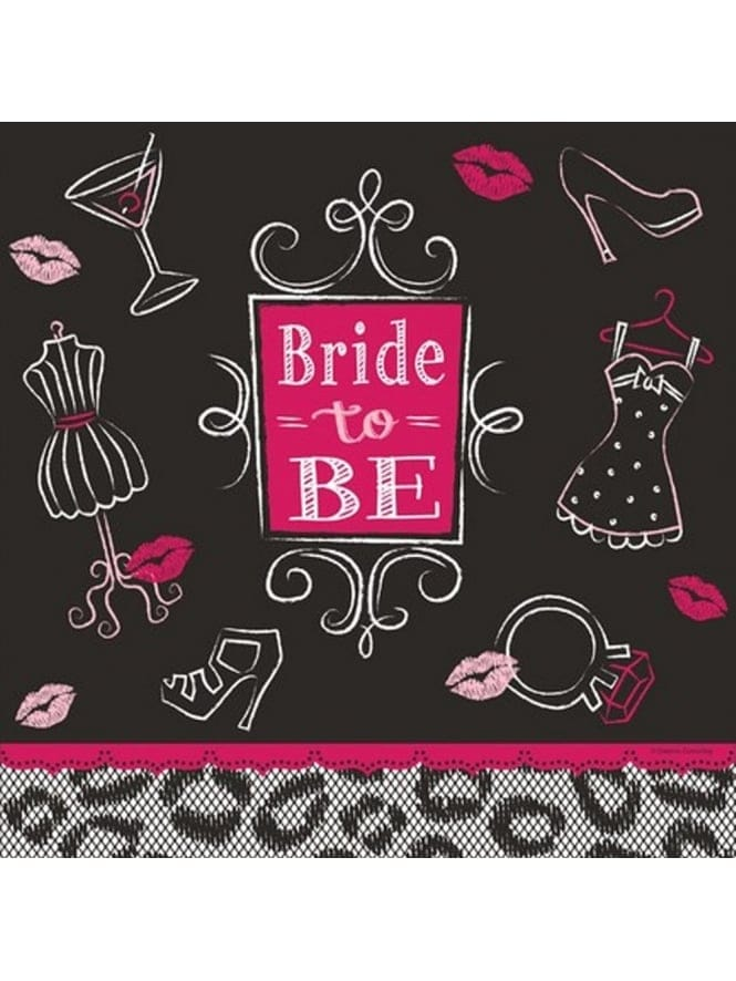 Hen Party/Bridal Shower Table Cover, Tablecloth