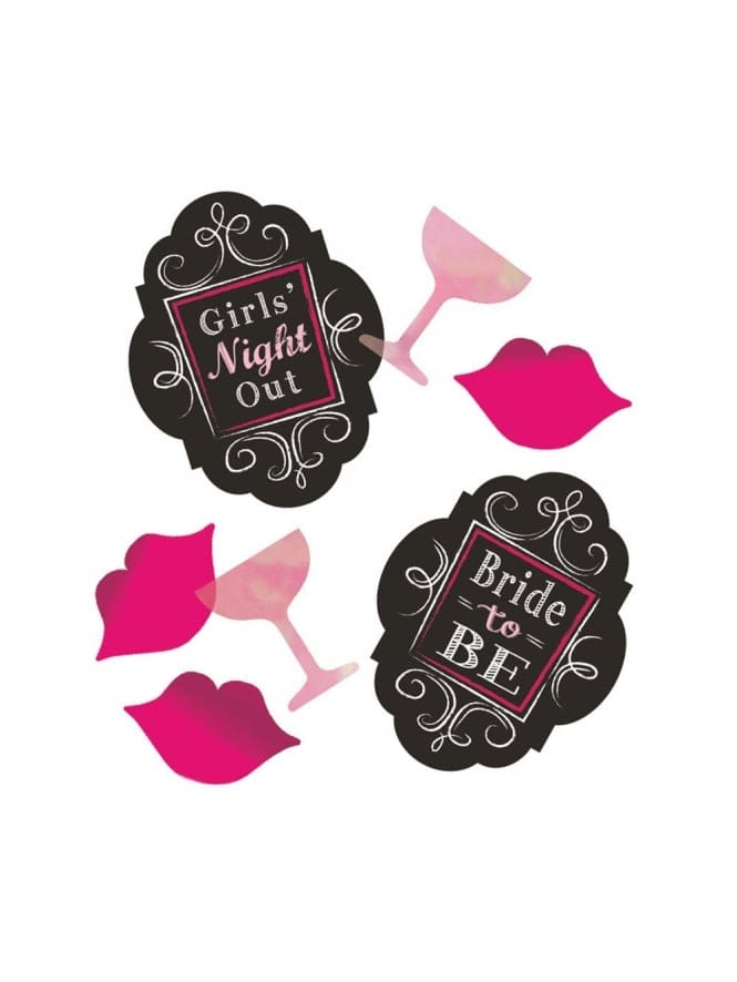 Hen Party Printed Confetti