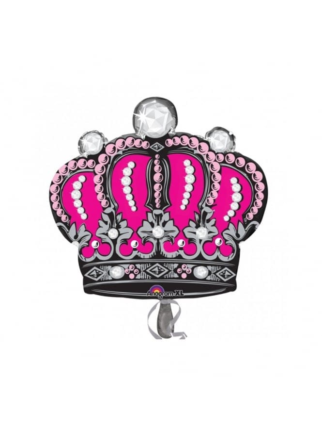 Extra Large Princess Crown Hen Party Foil Balloon