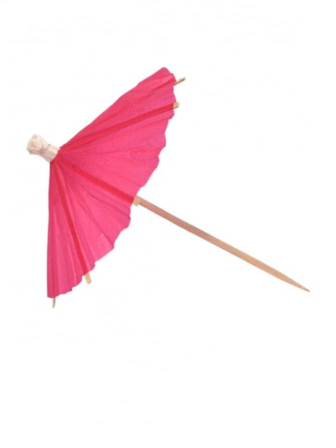 Pink Umbrella Party Picks
