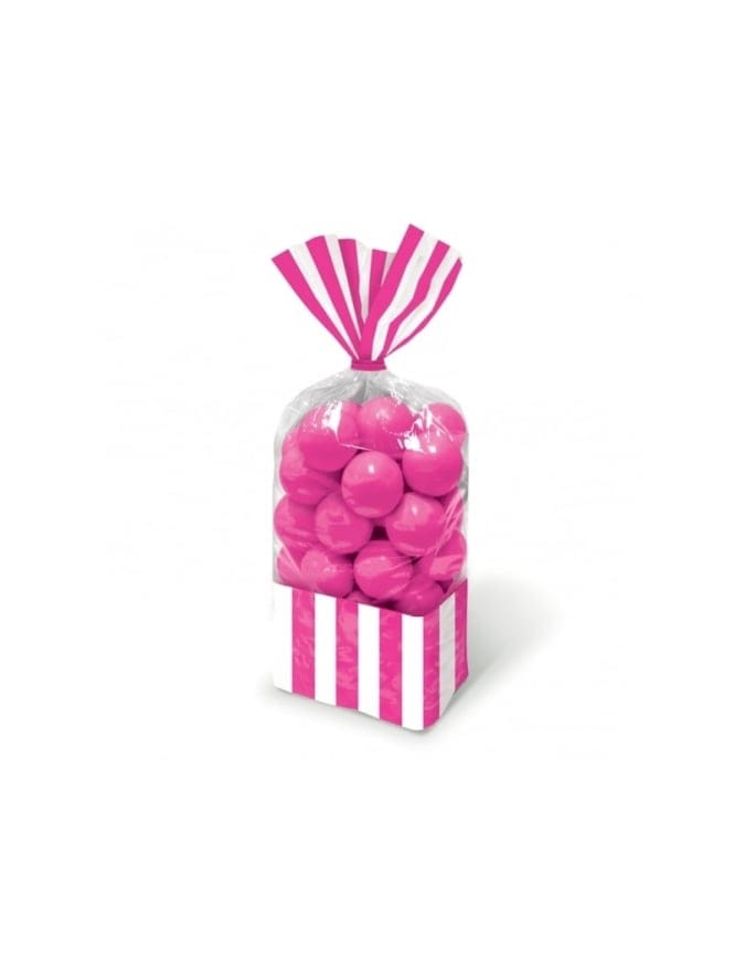 Hen Party Candy Buffet Striped Party Bags